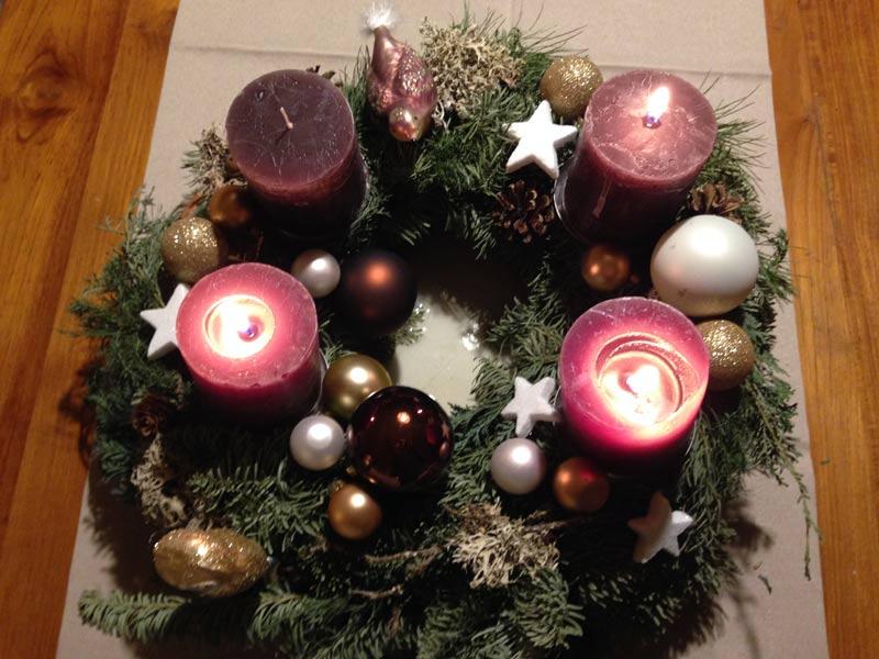 Text am weihnachtsbaume da hangt ne pflaume