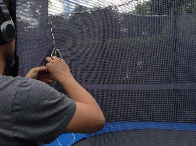 trampolin-naeharbeiten