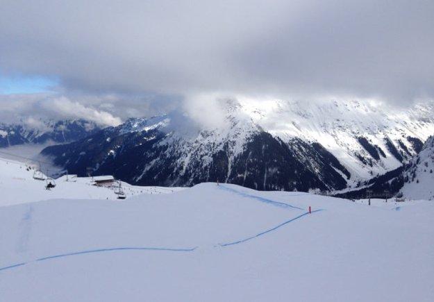 snowboardstrecke